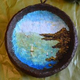 Панно «Море» декоративное малое. Что подарить любимому