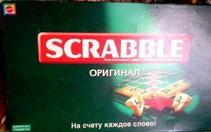 игра scarabble коробка