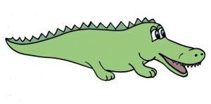 крокодил картинка детская