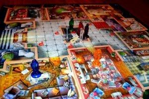 Детективная игра Cluedo игровое поле