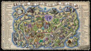 Карта Забукварья Зал Волшебный Букварь