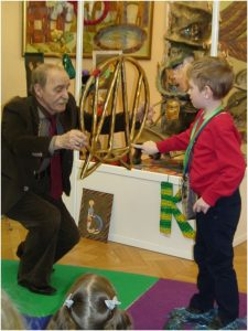 Виктор Катков и мальчик
