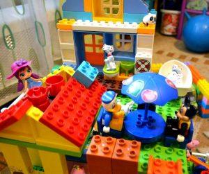 Коснструктор Lego Duplo совмещённый с Peppa Pig