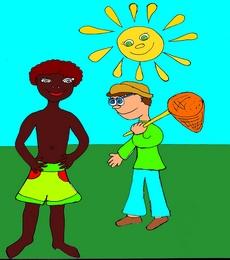 Sun солнце ассоциативная карточка