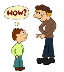 How вопросительные местоимения в английском в весёлых картинках и стихах