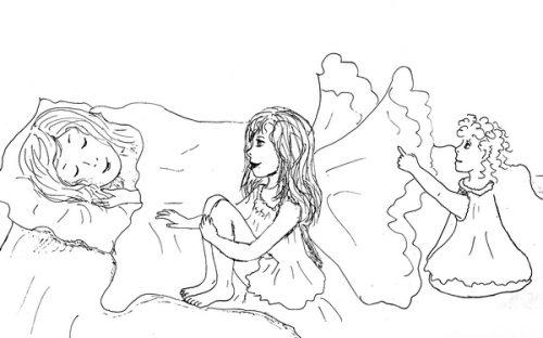 Иллюстрация автора к сказочной повести